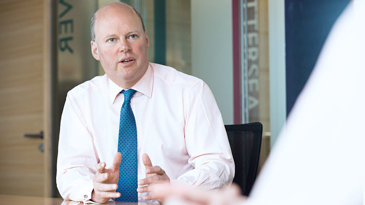 Stephen Hester, Group Chief Executive, RSA Insurance Group