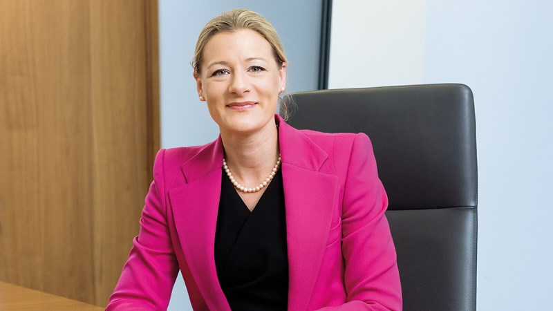 Charlotte Heiss, RSA Group chief legal officer and company secretary