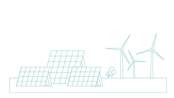 Cyan800x450pxWind turbines and solar panels  Corporate Responsibility  Environmentjpg